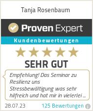 Erfahrungen & Bewertungen zu Tanja Rosenbaum