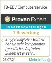 Erfahrungen & Bewertungen zu Computerservice TB-EDV
