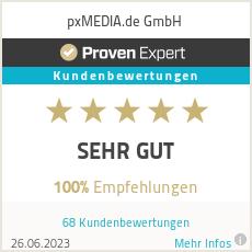 Erfahrungen & Bewertungen zu pxMEDIA.de
