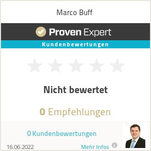 Erfahrungen & Bewertungen zu Marco Buff