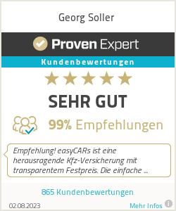 Erfahrungen & Bewertungen zu Georg Soller