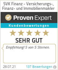 Erfahrungen & Bewertungen zu SVK Finanz - Versicherungs-, Finanz- und Immobilienmakler