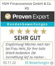 Erfahrungen & Bewertungen zu HVH Finanzservice GmbH & Co. KG
