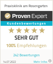 Erfahrungen & Bewertungen zu Praxisklinik am Rosengarten
