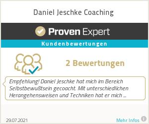 Erfahrungen & Bewertungen zu Daniel Jeschke Coaching - NLP Coach Hannover