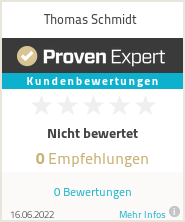 Erfahrungen & Bewertungen zu Thomas Schmidt
