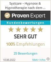 Erfahrungen & Bewertungen zu Systcare - Hypnose & Hypnotherapie nach dem Heilpraktikergesetz