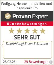 Erfahrungen & Bewertungen zu Wolfgang Henne Immobilien und Ingenieurbüro