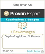 Erfahrungen & Bewertungen zu Rümpelmann24