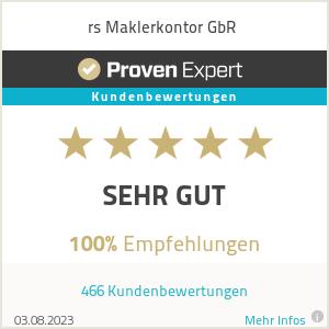 Erfahrungen & Bewertungen zu rs Maklerkontor GbR