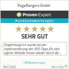 Erfahrungen & Bewertungen zu PageRangers GmbH