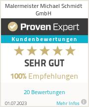 Erfahrungen & Bewertungen zu Malermeister Michael Schmidt GmbH