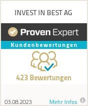Erfahrungen & Bewertungen zu INVEST IN BEST AG