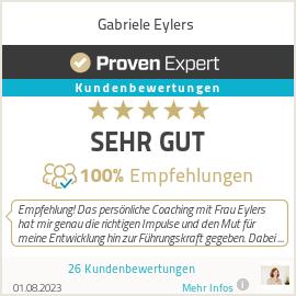 Erfahrungen & Bewertungen zu Gabriele Eylers