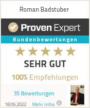 Erfahrungen & Bewertungen zu Roman Badstuber