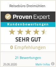 Erfahrungen & Bewertungen zu Reisebüro Dreimühlen
