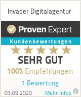 Erfahrungen & Bewertungen zu Invader Digitalagentur