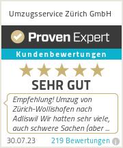 Erfahrungen & Bewertungen zu Umzugsservice Zürich GmbH