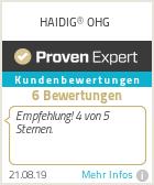 Erfahrungen & Bewertungen zu HAIDIG® OHG