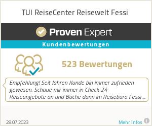 Erfahrungen & Bewertungen zu TUI ReiseCenter Reisewelt Fessi