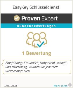 Erfahrungen & Bewertungen zu EasyKey Schlüsseldienst