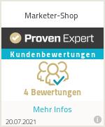 Erfahrungen & Bewertungen zu Marketer-Shop