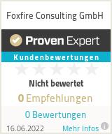 Erfahrungen & Bewertungen zu Foxfire Consulting GmbH