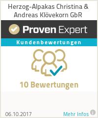Erfahrungen & Bewertungen zu Herzog-Alpakas (Christina Behnke & Andreas Klövekorn GbR)