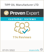 Ratings & reviews for TIPP OIL Manufacturer LTD