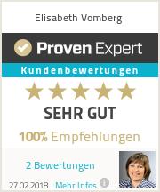 Erfahrungen & Bewertungen zu Elisabeth Vomberg