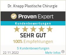 Erfahrungen & Bewertungen zu Dr. Knapp Plastische Chirurgie