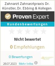 Erfahrungen & Bewertungen zu Zahnarzt Zahnarztpraxis Dr. Künstler, Dr. Ebbing & Kollegen