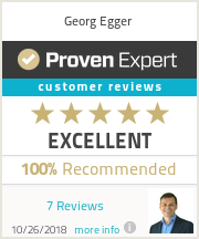 Ratings & reviews for Georg Egger