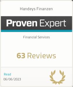ProvenExpert-Profil von Handeys Finanzen anzeigen