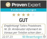 Erfahrungen & Bewertungen zu Urologie - Dr. med. Marc Armbruster & Dr. med. Johannes Gärtner