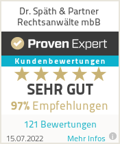 Erfahrungen & Bewertungen zu Dr. Späth & Partner Rechtsanwälte mbB