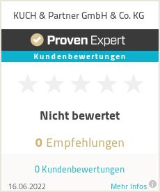Erfahrungen & Bewertungen zu KUCH & Partner GmbH & Co. KG
