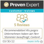 Ratings & reviews for Stümmler