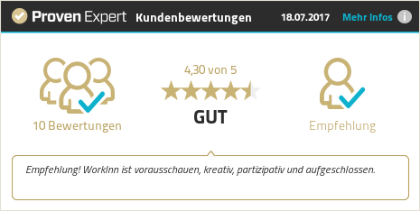 Erfahrungen & Bewertungen zu Work Inn GmbH & Co.KG anzeigen
