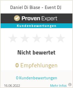 Erfahrungen & Bewertungen zu Daniel Di Biase - Event DJ