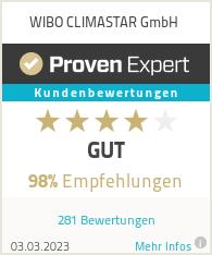 Erfahrungen & Bewertungen zu WIBO CLIMATEC GmbH