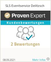 Erfahrungen & Bewertungen zu SLS Eventservice Delitzsch