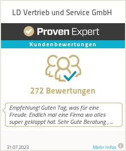 Erfahrungen & Bewertungen zu LD Vertrieb und Service GmbH