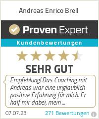 Erfahrungen & Bewertungen zu Andreas Enrico Brell