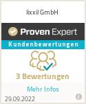 Erfahrungen & Bewertungen zu lixxil GmbH