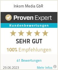 Erfahrungen & Bewertungen zu Inkom Media GbR