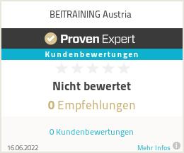 Erfahrungen & Bewertungen zu BEITRAINING Austria