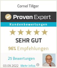 Erfahrungen & Bewertungen zu Cornel Tillger