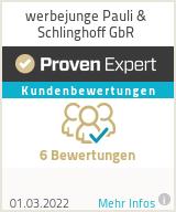 Erfahrungen & Bewertungen zu werbejunge Pauli & Schlinghoff GbR