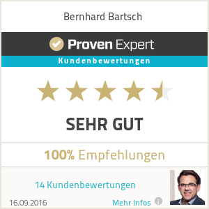Erfahrungen & Bewertungen zu Bernhard Bartsch